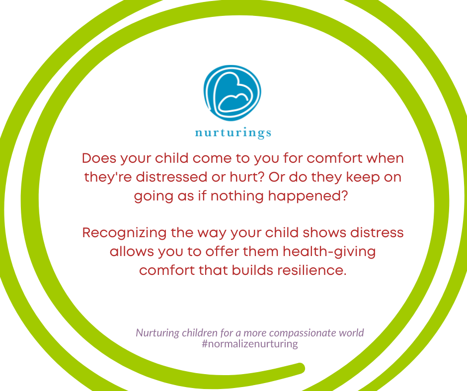 Seeing our child's distress