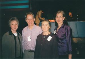 Barbara Nicholson, Richard Bowlby, Xenia Bowlby, Lysa Parker