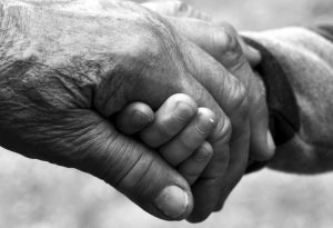 Grandma Hand Child