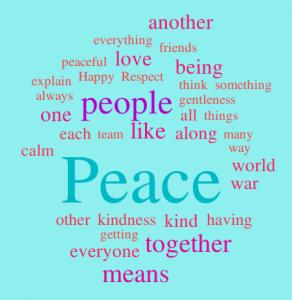 kids-peace-word-cloud