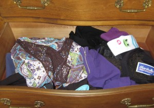 The new-clothes drawer