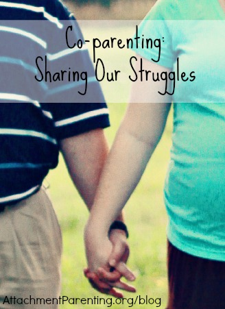 co-parenting: sharing our struggles