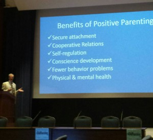 george holden on positive parenting at the 2014 conference