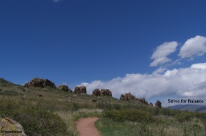 The Devil's Backbone in Loveland, Colorado